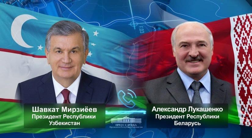 Шавкат Мирзиёев Александр Лукашенкони 67 ёшга тўлгани билан табриклади