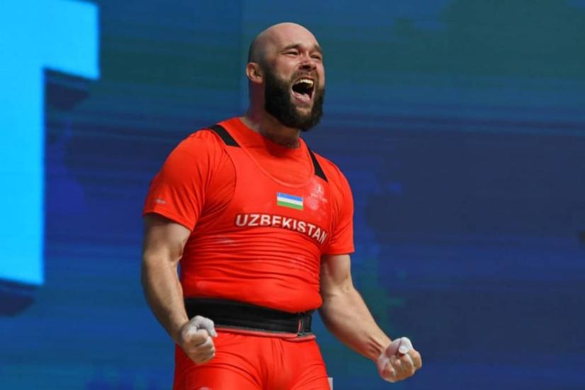 Руслан Нурудинов янги жаҳон рекордини ўрнатди
