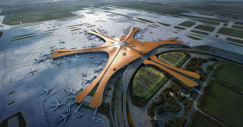 Дунёдаги энг катта аэропорт фойдаланишга топширилди (фото)