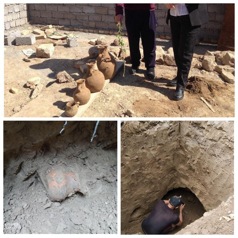 Toshkent viloyatida 2 ming yillik qabr topildi