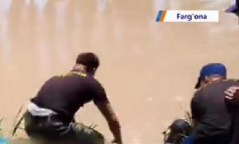 «Катта Фарғона» каналидан 15 ёшли ўсмирнинг жасади олиб чиқилди (видео)