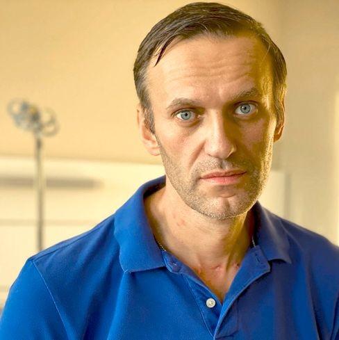 Навалний ўзининг заҳарланишида Путинни айблади