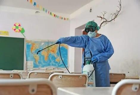 Қашқадарёда мактабларни дезинфекция қилиш учун 2,363 миллиард сўм ажратилди