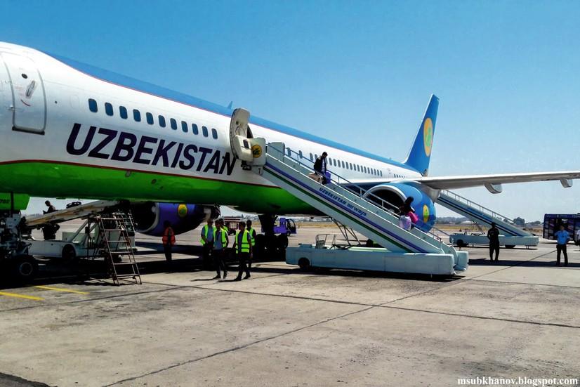 Блогер хабари: Миллий авиакомпаниянинг ёши 20 йилдан ошган самолёти биринчи мартада ерга қўна олмади