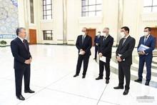 Президент Шавкат Мирзиёев Тошкент шаҳрида иссиқлик таъминоти тизимини модернизация қилиш лойиҳаси тақдимоти билан танишди.