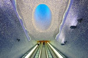 Дунёдаги энг чиройли метро бекатлари (фото)