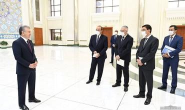 Prezident Shavkat Mirziyoyev Toshkent shahrida issiqlik ta'minoti tizimini modernizatsiya qilish loyihasi taqdimoti bilan tanishdi.