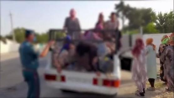 21 нафар йўловчини автомобилига сиғдирган