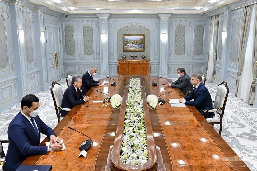 Президент «Российские железные дороги» бош директорини қабул қилди