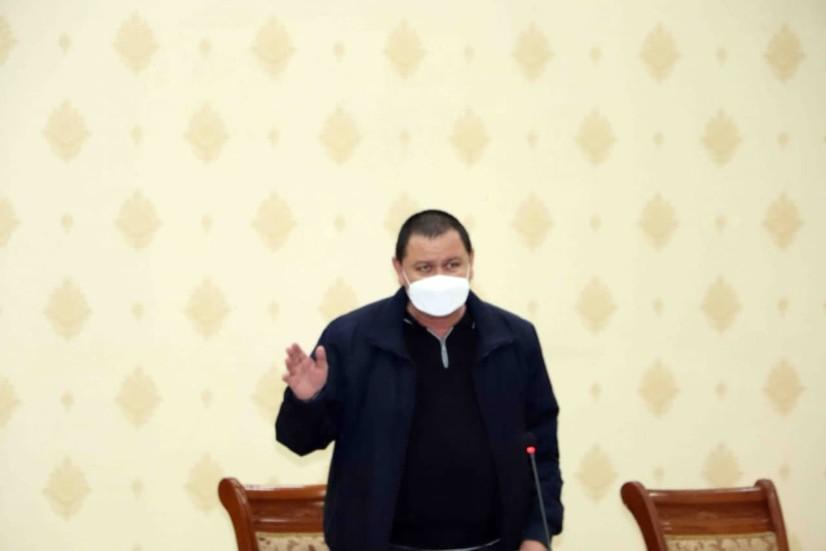 Shuhrat G'aniyev Qamashida seminar o'tkazdi