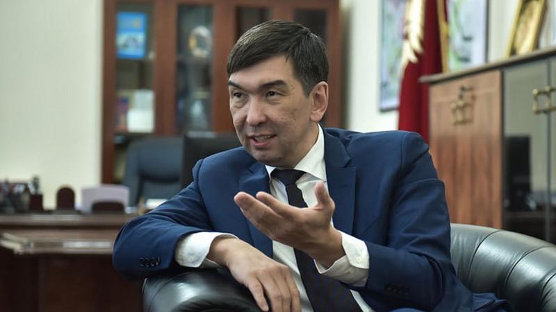 Бишкек ҳокими яна бир бор истеъфога чиқди