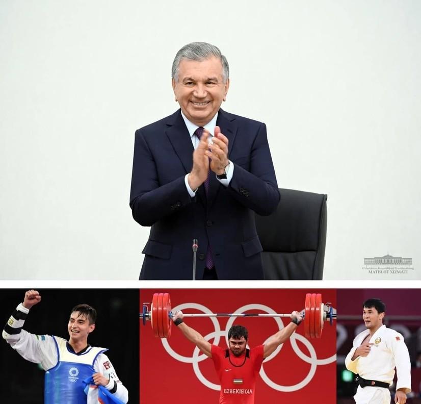 Шавкат Мирзиёев олимпиада ғолибларини табриклади