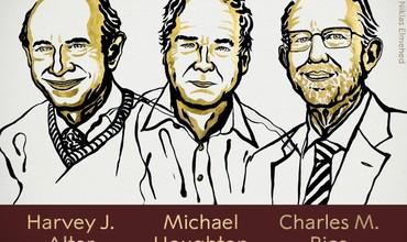 Tibbiyot bo'yicha Nobel mukofotini gepatit C virusi kashfiyotchilari oldi