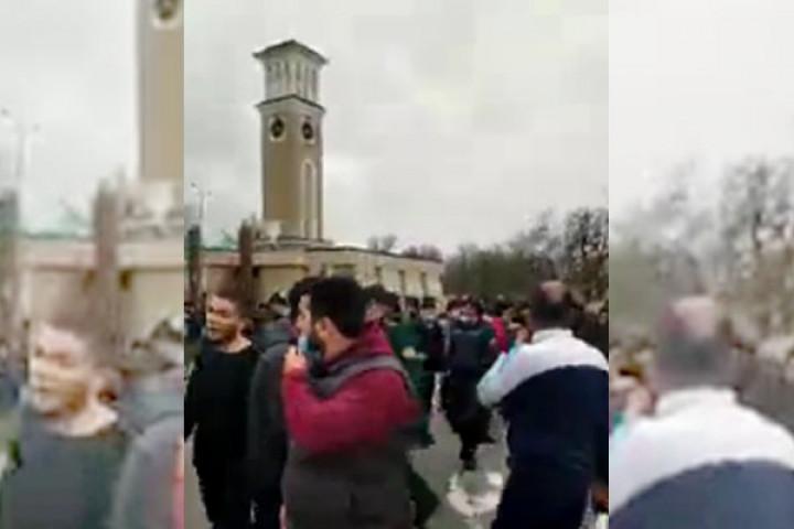 ИИББ бесоқолбозларга қарши ўтказилган митинг ва Миразиз Базаров юзасидан маълумот берди