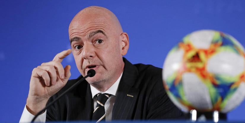 ФИФА президенти COVID-19'га чалинди