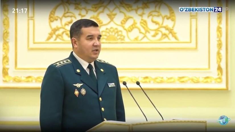 Ўзбекистон тарихида иккинчи маротаба ёш ходимга генерал-майор унвони топширилди