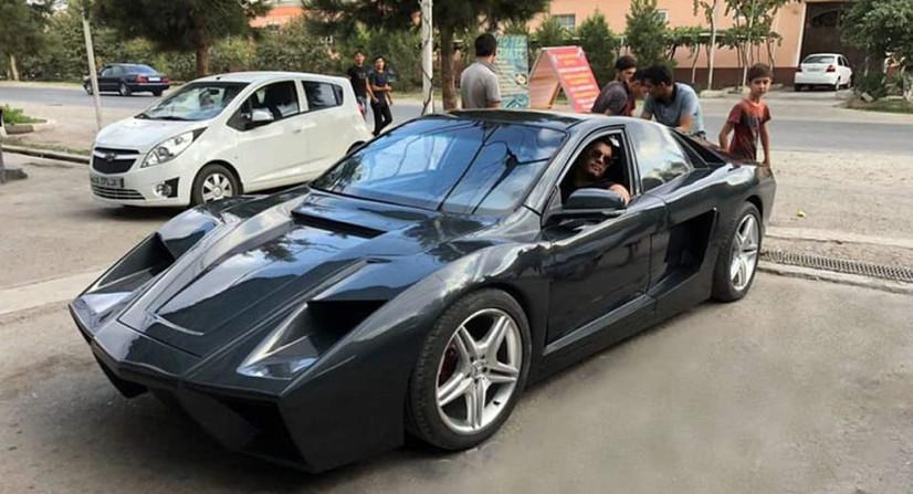 Марғилонлик уста Lacetti'дан Ferrari ясади (фото)
