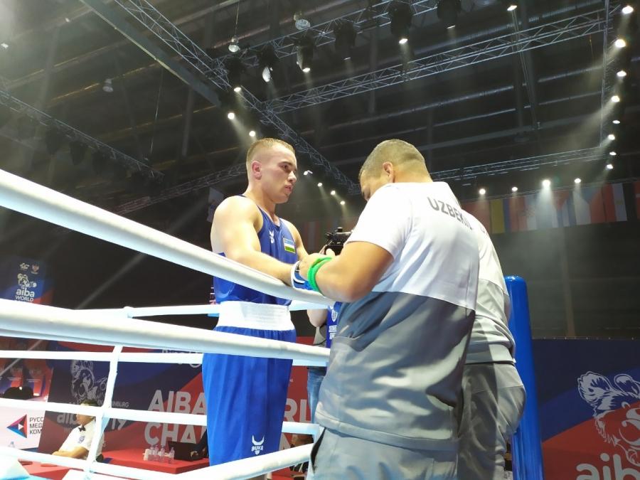 Бокс: Ўзбекистон вакиллари жаҳон чемпионатини ғалаба билан бошлашди