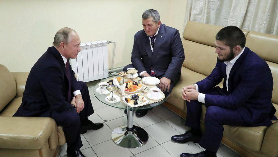 Путин Доғистонда Ҳабиб билан учрашади