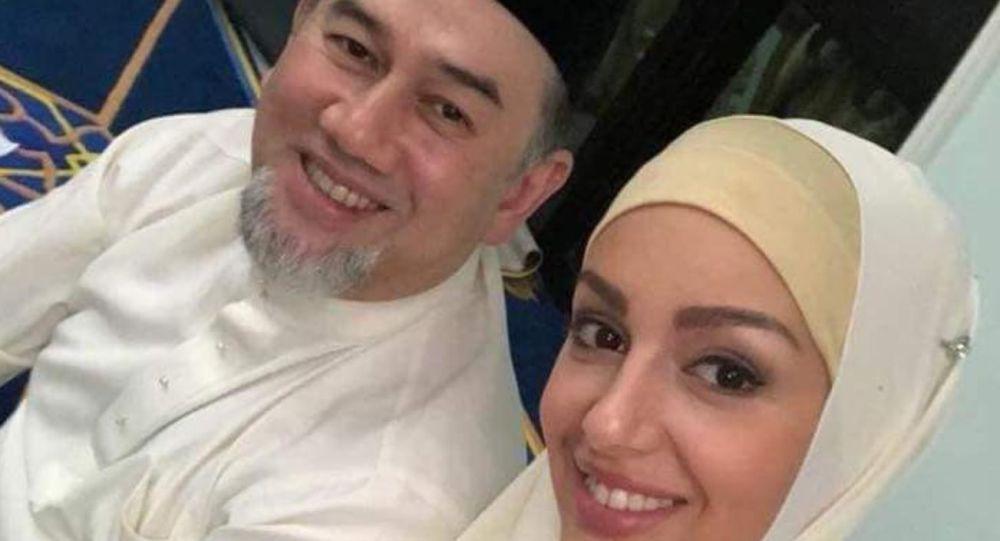 Малайзия қироли 2 ойлик никоҳдан сўнг рус модели билан ажрашмоқда